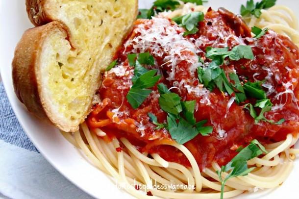 Meatball Spaghetti 12