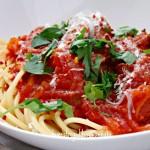 Meatball Spaghetti 1