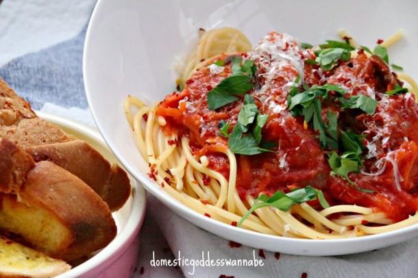 Meatball Spaghetti 2