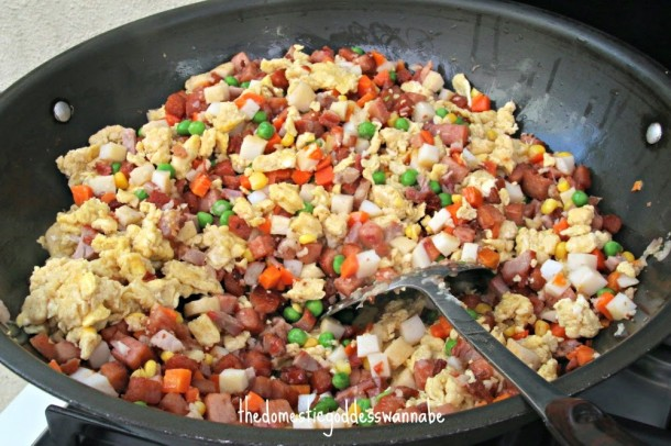 Luncheon Meat Fried Rice 7