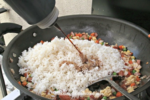 Luncheon Meat Fried Rice 5