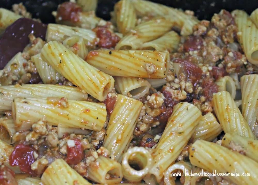 pasta alla marlboro man | The Domestic Goddess Wannabe