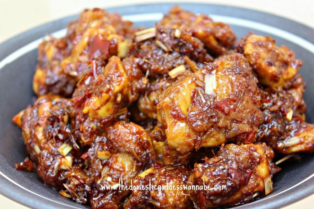 how to make chicken sambal