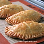 chicken and sweet corn pies