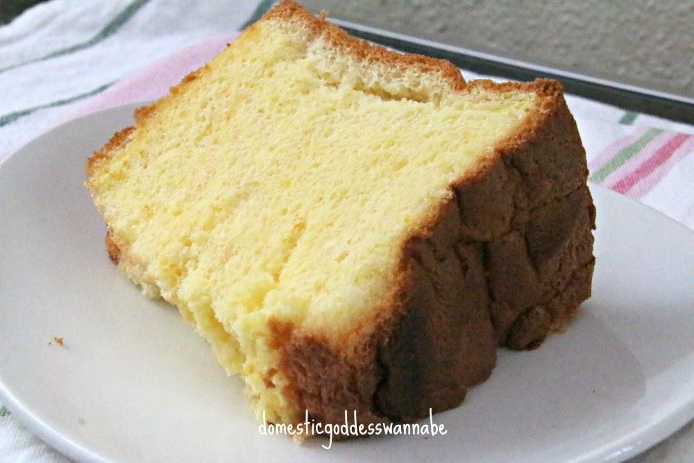 Japanese orange chiffon cake recipe