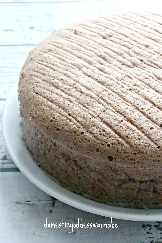 nutella cotton cake