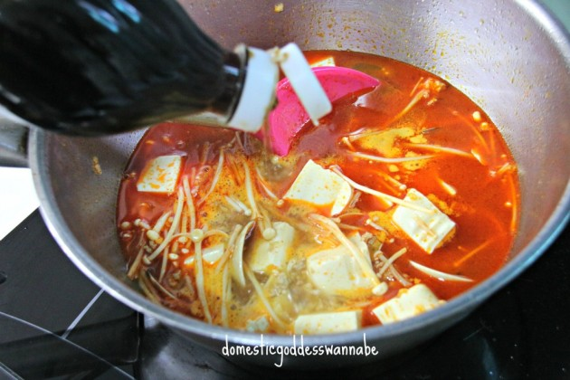 Korean soft toufu stew the domestic goddess wannabe for Korean fish sauce