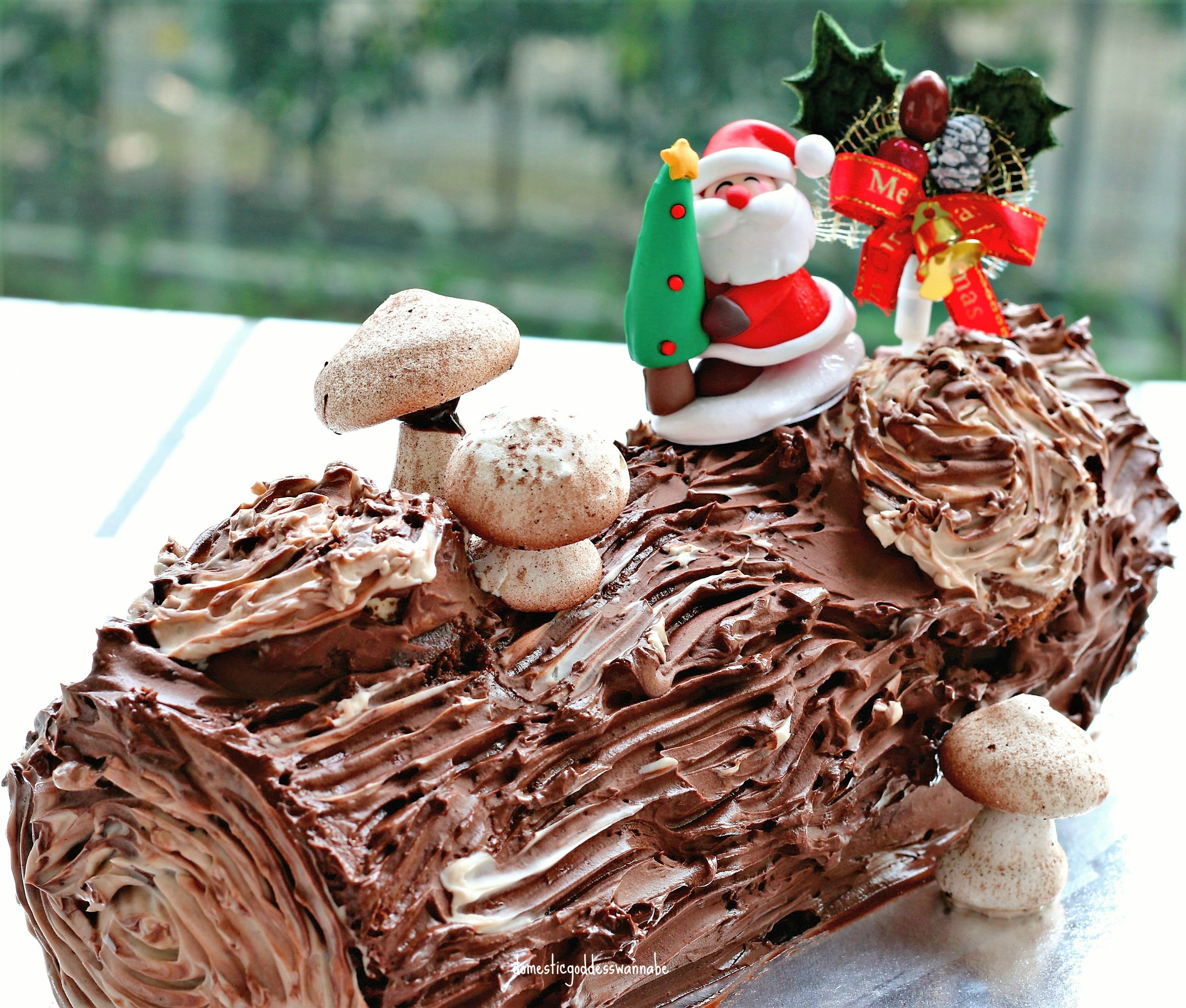 Chocolate Buttercream Recipe For Yule Log