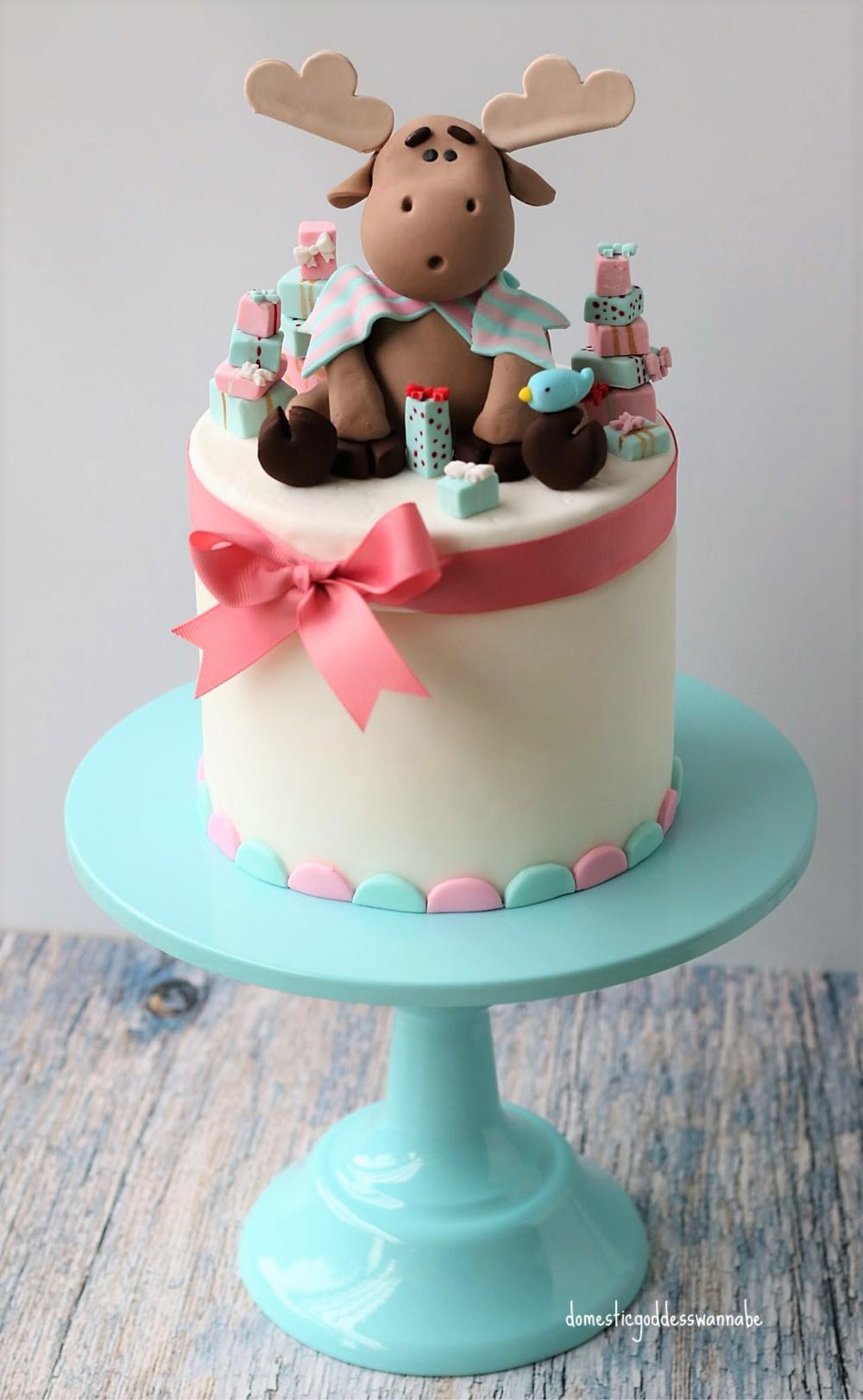 Hands-on Raspberry Limoncello Fondant Cake with Edible ...
