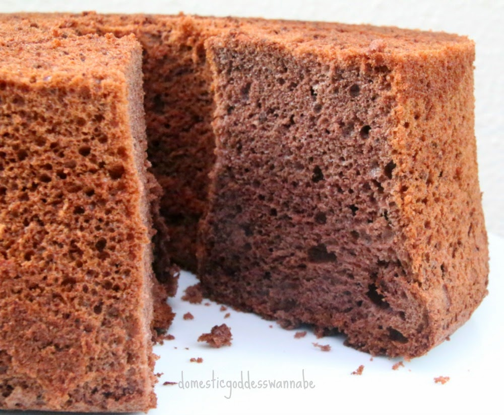 chocolate chiffon cake chocolate chiffon cake the domestic goddess wannabe 2849